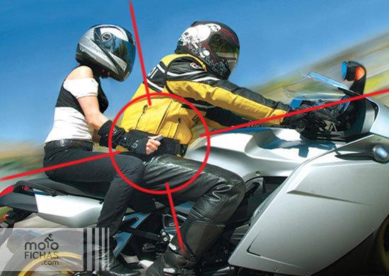 Cinturón con agarraderas para el pasajero