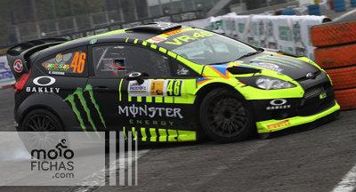 """Valentino Rossi termina segundo en el """"Monza Rally Show ..."""