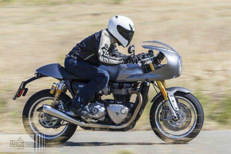 Prueba Triumph Thruxton 1200 R Kit Track Racer: exquisita