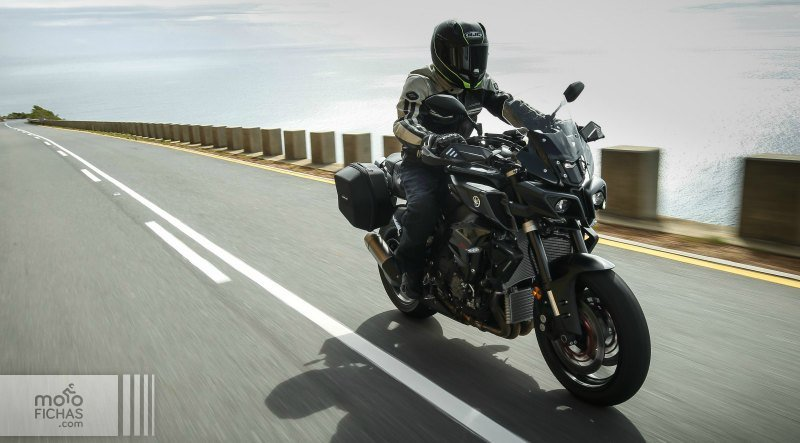 yamaha mt 10 tourer edition 2017 texto