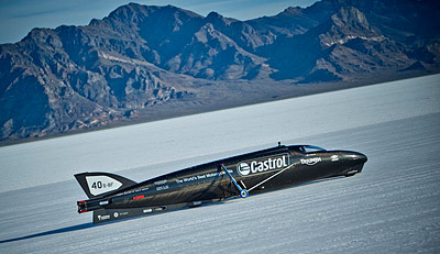 Castrol Rocket Record Bonneville