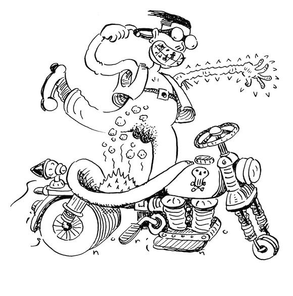 conducir la motocicleta puede causar disfunción eréctil